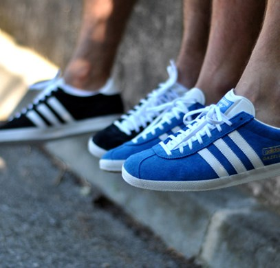 Gazelle της Adidas: Remember the future!